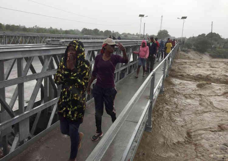 A Haïti, des milliers de personnes ont dû être évacuées, lors du passage de l'ouragan Matthew.