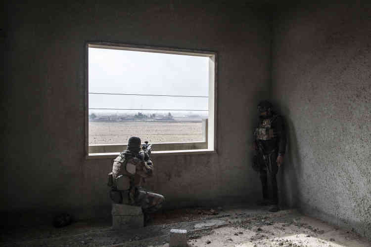 Des snipers, le 31 octobre àBazwaya.