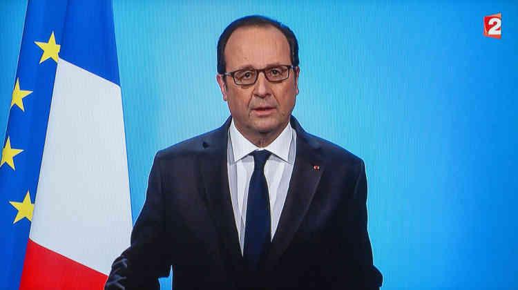 Le 1er décembre 2016. François Hollande annonce sur France 2 qu'il renonce à être candidat à l'élection présidentielle de 2017.