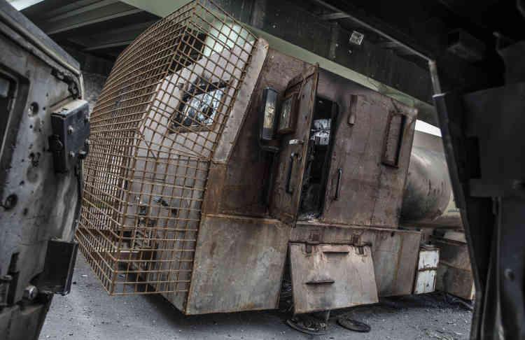 Un camion suicide de l'EI.