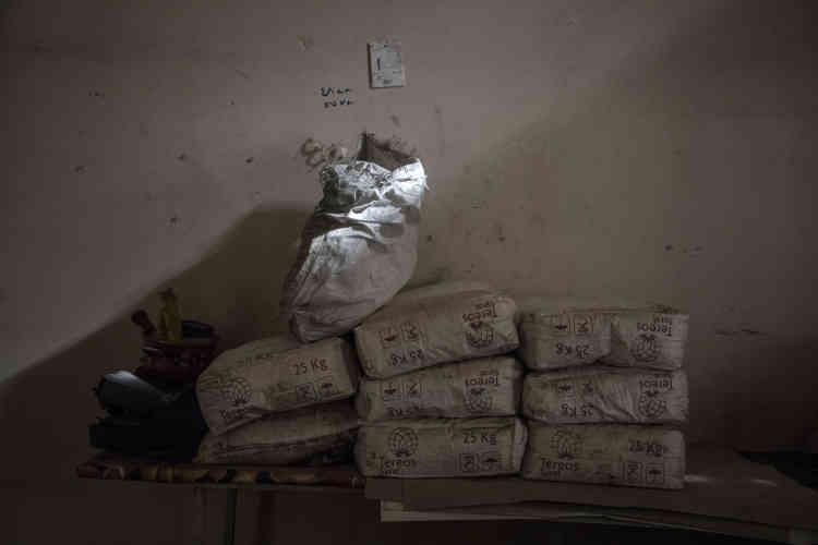 Un laboratoire de fabrication de produits explosifs de l'EI dans une maison particulière du quartier Mohandessine.