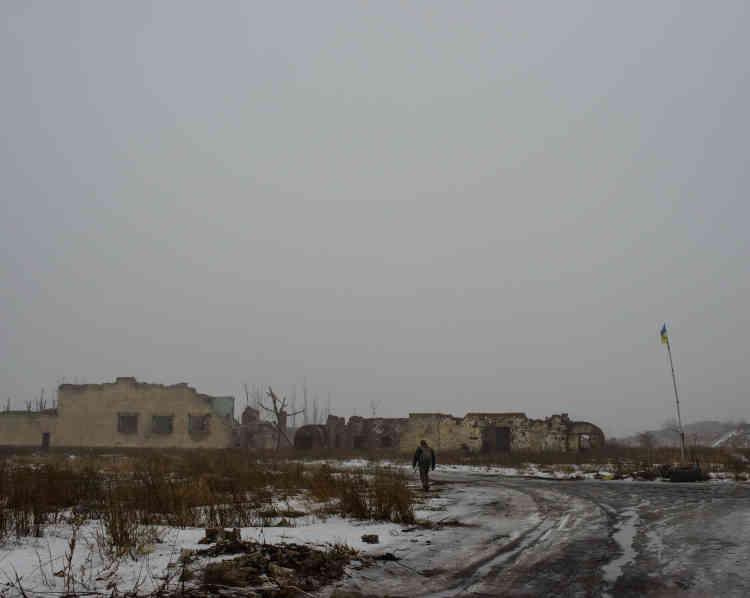 L'ancienne base militaire aérienne Zenit est devenue l'une des positions du 72erégiment de l'armée ukrainienne sur la ligne de front.