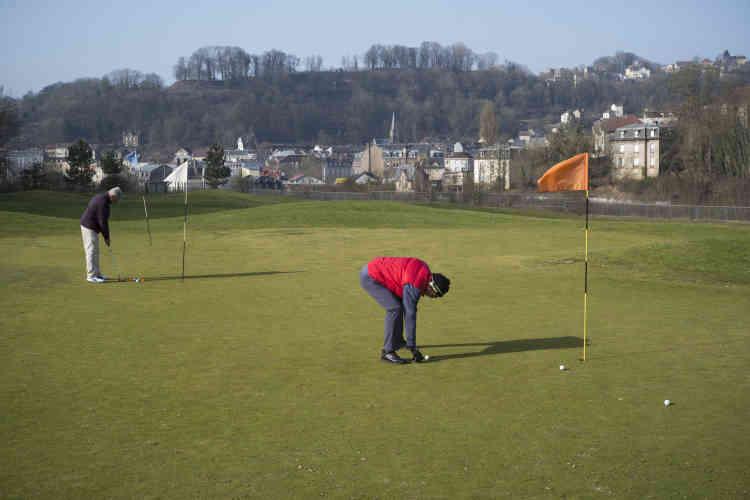 Le golf de Longwy, construit en 2011 sur un ancien site sidérurgique.