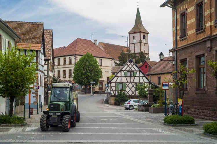Le village de Balbronn a choisi le développement du cœur du village. L'objectif étant de remplir les logements vacants à l'intérieur des bâtisses anciennes du centre historique.