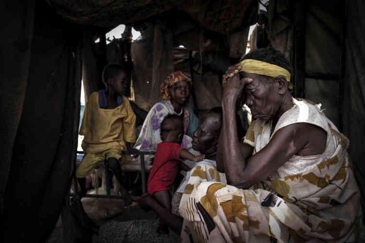 Survivante d'Ogod évacuée par MSF jusqu'au camp de protection des civils de la Minuss. Lors de l'assaut, témoigne-t-elle, des civils shilluk ont été exécutés sur la base de leur ethnie, des femmes violées, des vieillards brûlés vifs dans leur maison.