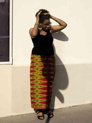 Laura Nsafou, 24 ans, blogueuse sous le nomde Mrs Roots, vient de publier un roman.