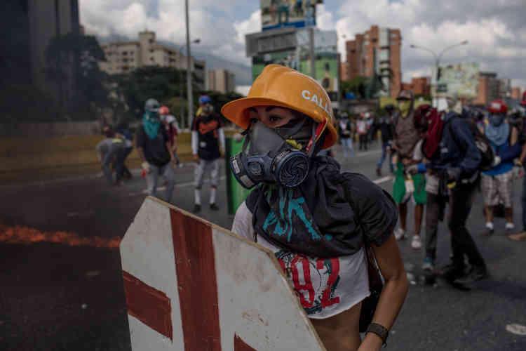 Les manifestations contre le gouvernement ont débuté les premiers jours d'avril, et sont quotidiennes depuis.
