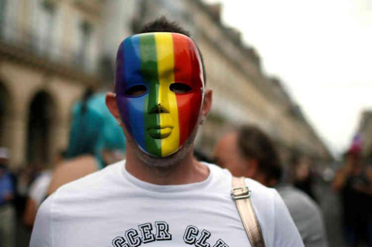 Les manifestants parisiens ont notamment revendiqué un accès plus large à la PMA.
