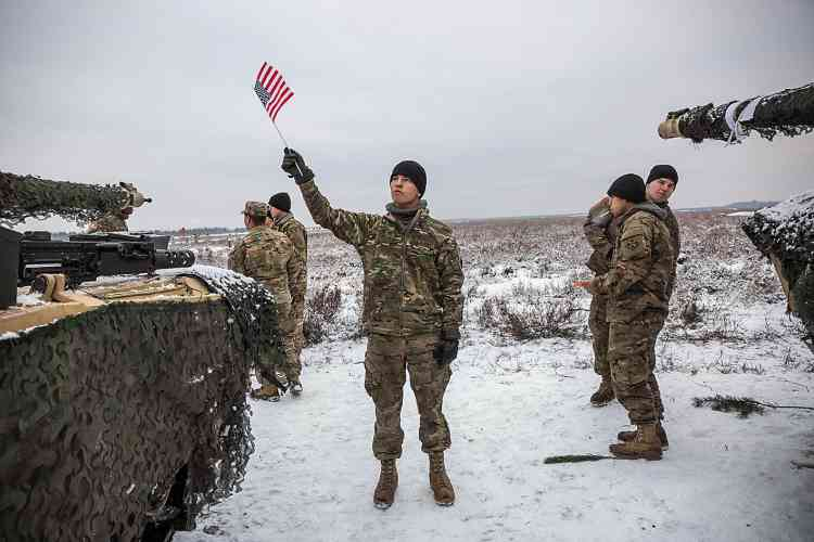 4 000 soldats américains ont été déployés sur ce territoire afin de défendre les frontières de l'OTAN face à une menace russe grandissante.