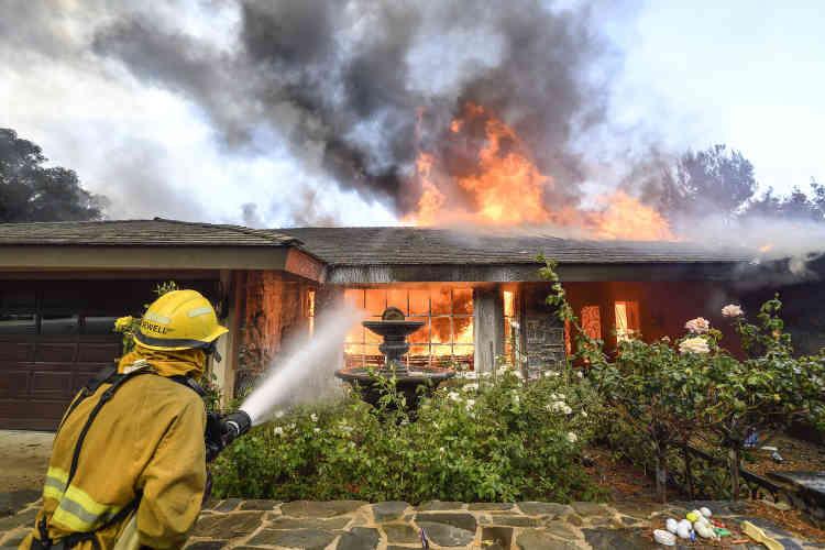 Le vignoble Signorello Estate et l'exploitation devins biologiques Frey, notamment, ont été dévorés par les flammes.