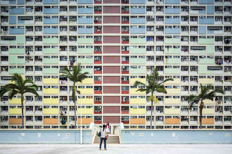 Le Choi Hung Estate, un immeuble situé à Hongkong.