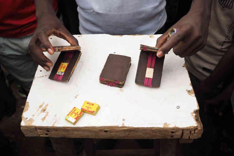 Jeu de pari au grand marché de Niamey.