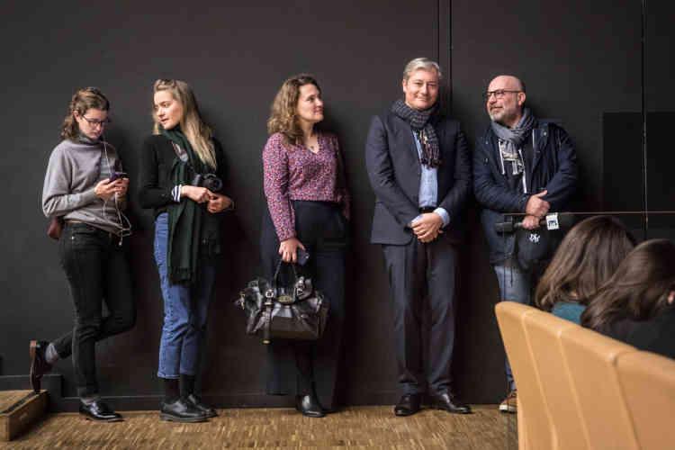 Laurent Hénart, le maire de Nancy, est venu assister aux débats.