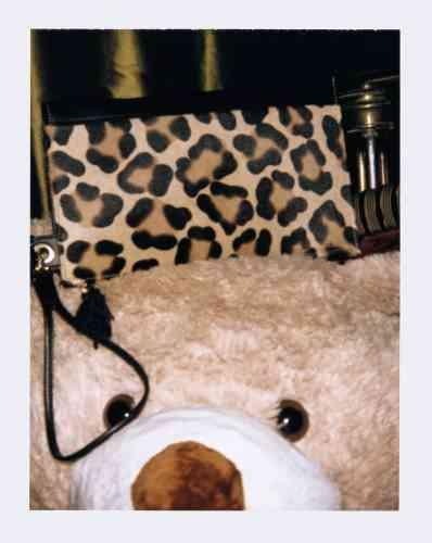 Sac en veau imprimé léopard, 250€, Longchamp.