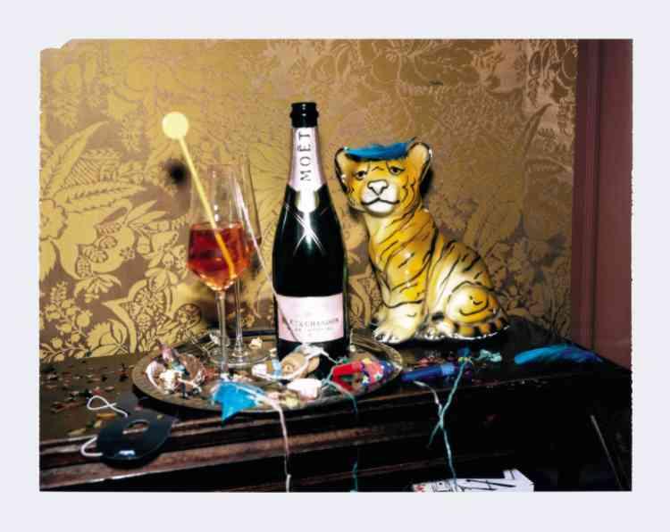 Champagne Impérial Rosé, Moët éclats d'Or, 48€, Moêt & Chandon.