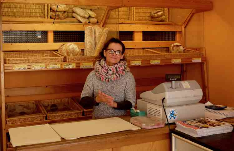 Dorothé Patry, 48ans, est salariée de la boulangerie Sarlandie, également partenaire du dispositif Ecosyt'm.