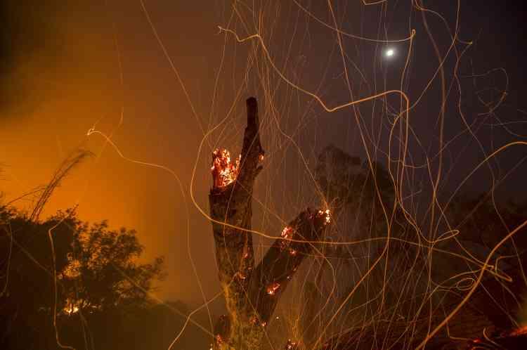 Les pompiers du comté de Ventura ont fait savoir que les opérations de lutte contre le feu avaient déjà coûté 17millions de dollars.