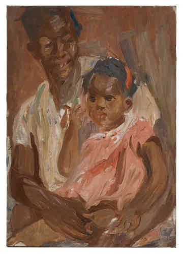 « La mère et l'enfant à La Havane», 1926.