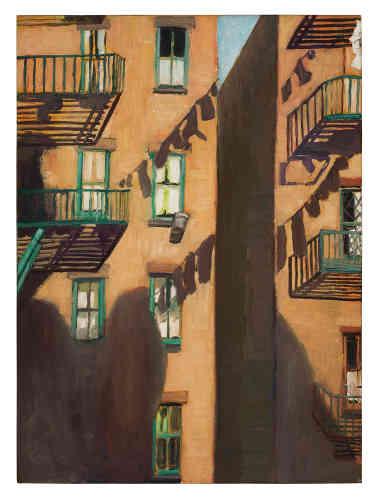 « Sortie de secours », 1948.