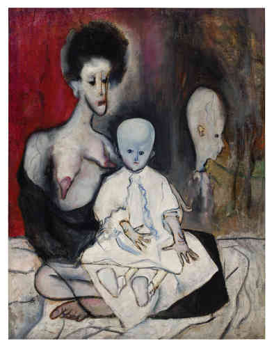 «La Madonne dégénérée», 1930.