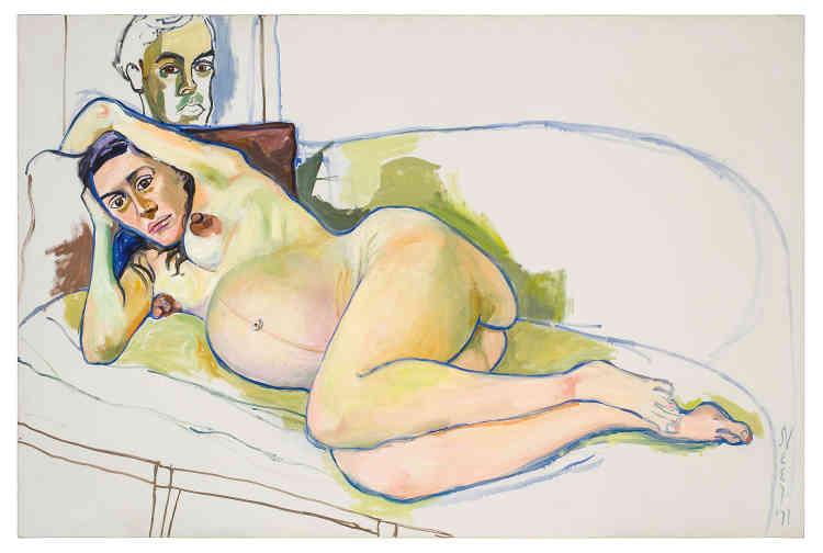 « Femme enceinte», 1971.
