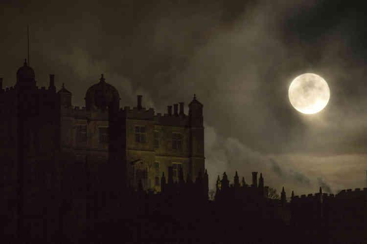 Le château de Bolsover, dans le nord-ouest de l'Angleterre.