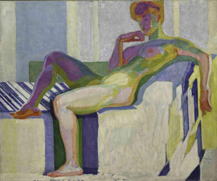 Kupka refused'être assimilé à tout mouvement et préfére garder son indépendance. Sa peinture va privilégier alors des teintes vives, s'orientant peu à peu vers l'abstraction.