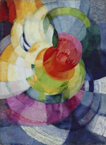 Il expose dans les Salons des toiles qui«heurtent » le public et la critique. Kupka passe désormais à l'abstraction préférant l'idée de mouvement et de touches colorées, où certaines toiles sont composées de bandes parallèles verticales ou circulaires.