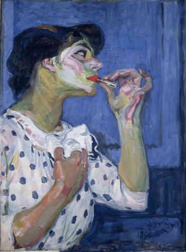 Ses premières œuvres sont résolument figuratives. Mais déjà, dans ses couleurs, on notre l'inspiration des peintres fauves.