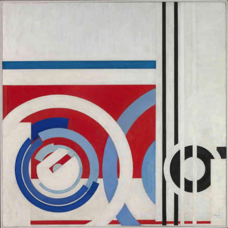 En 1931, Kupka adhère au groupe Abstraction-Création grâce àTheo van Doesburg qui l'invite à rejoindre Hans Arp, Auguste Herbin, Alberto Giacometti et Jean Hélion. Ses toiles deviennent plus austères : Kupka n'aura désormais recours qu'à desformes géométriques.
