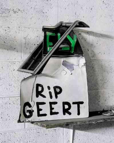 «Memorial I (Rest in Peace Geert)», photographie, 2014.