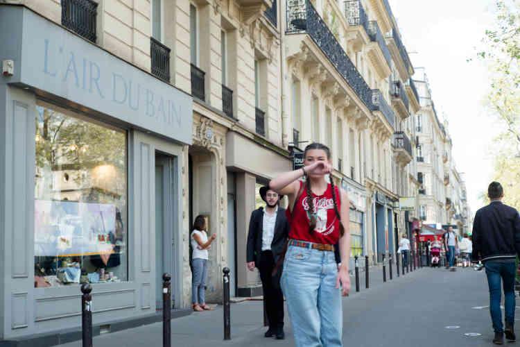 Sur le boulevard Beaumarchais, la frontière sud du 11e arrondissement dans lequel vivent entre 15 et 17 000 juifs.