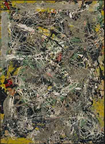 La technique du «all-over» pratiquée par le peintre américain Jackson Pollockpourrait s'appliquer aux panneaux tardifs des «Nymphéas». Toute référence au réel est abandonnée au profit de touches jetées à même la toile, fusionnant en des motifs non figuratifs.