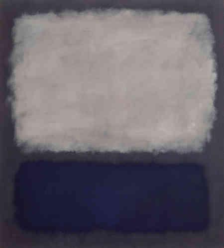 «Nous sommes pour les formes plates parce qu'elles détruisent l'illusion et révèlent la vérité», déclarait, en 1942, Marc Rothko. Sa peinture ‒ par le champ de couleurs et par l'absence de relief‒ crée une «nouvelle approche optique» évoquant « Les Nymphéas» présentés à l'Orangerie.