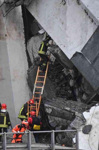 Le ministre de l'intérieur, Matteo Salvini, a déclaré que quelque 200 pompiers se rendaient sur place.