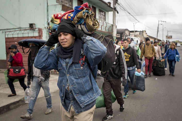 Après Quito, Lima, la capitale péruvienne, a elle aussi déclaré vouloir fermer sa frontière aux exilés sans passeport à partir du 25 août.