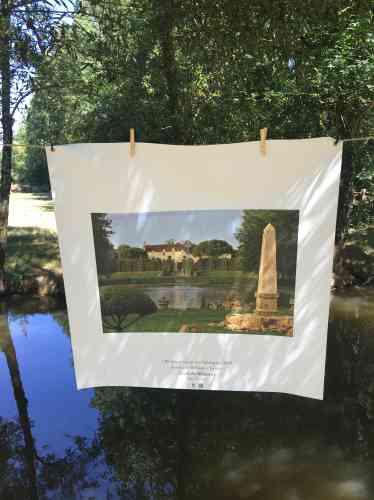 L'Association régionale des parcs, jardins et paysages des Pays de la Loire présente... sur un fil«50 beaux jardins» de la région.
