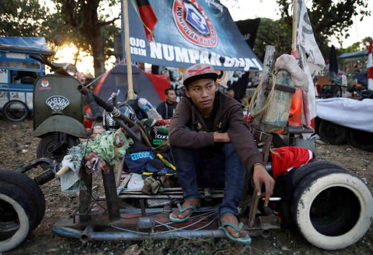 Les amoureux indonésiens de la« guêpe» forment la deuxième plus importante communauté de passionnés derrière les Italiens.