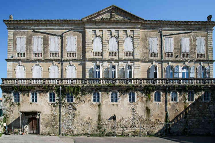 L'hôtel de Polignac à Condom, dans le Gers.Edifié entre 1773 et 1777, il est classé monument historique depuis 1990.