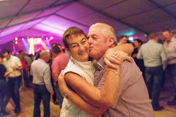 Albert et Cecily Lawlor eux ne sont plus célibataires : ils se sont connus il y a 50 ans au festival.