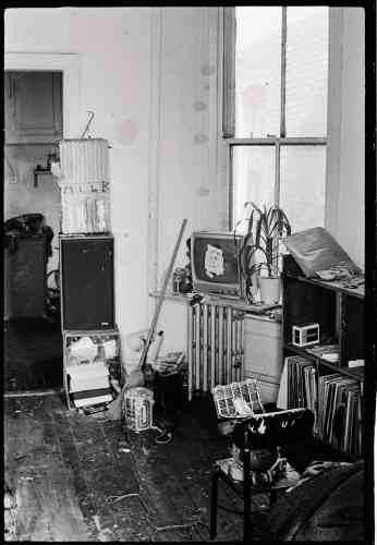 L'appartement-atelier de la 12e Rue.