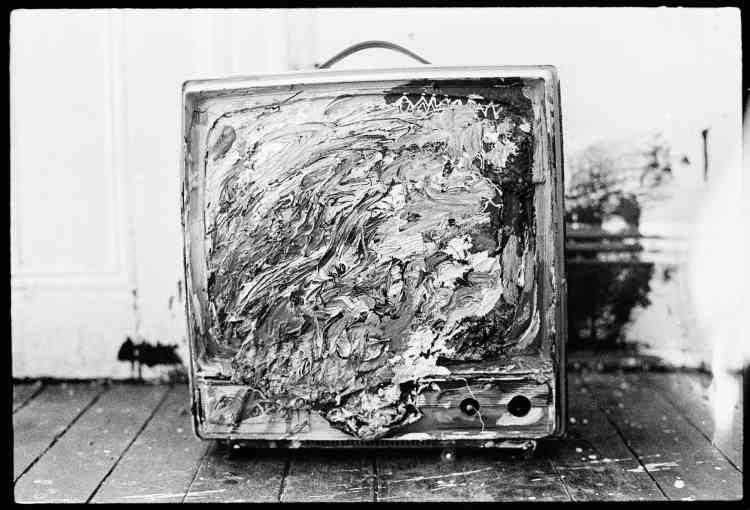 Télévision peinte.