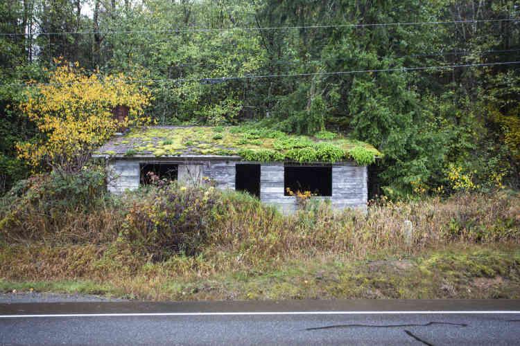 Une maison abandonnée, dans la vallée de Hanaford.