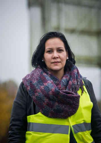 Marion Pruvost, 32 ans, secrétaire, de Seine-et-Marne : «Ras le bol ! C'est de la colère pour l'avenir de mes filles, nous devons être solidaires et regroupés, il faut que l'on soit ensemble.»
