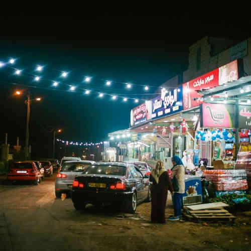 À Jéricho, les boutiques restent ouvertes jusque tard dans la nuit.