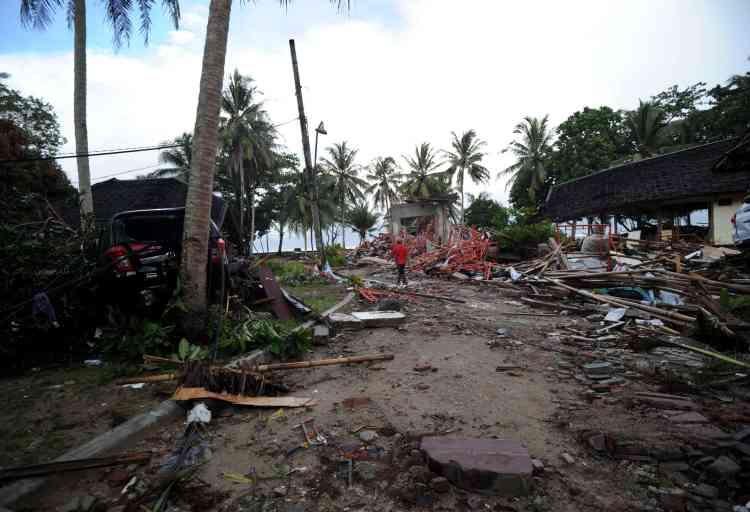 Laprovincede Banten, où se situe Carita, destination touristique, a été la plus touchée par le tsunami.