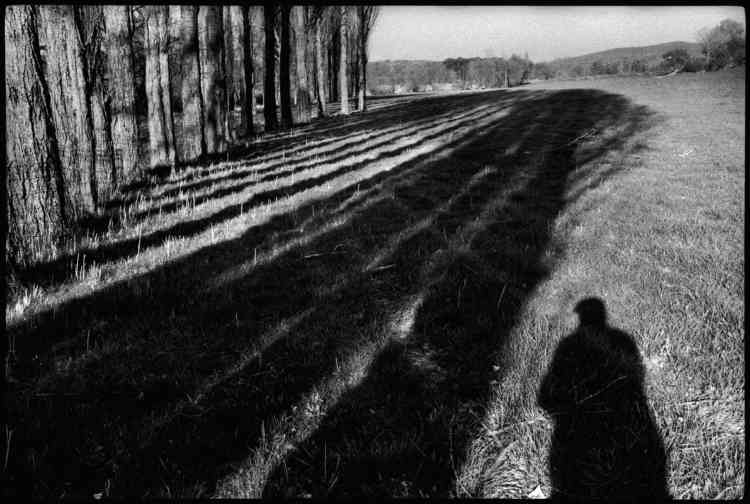 « Autoportrait, près de Céreste», 1999.