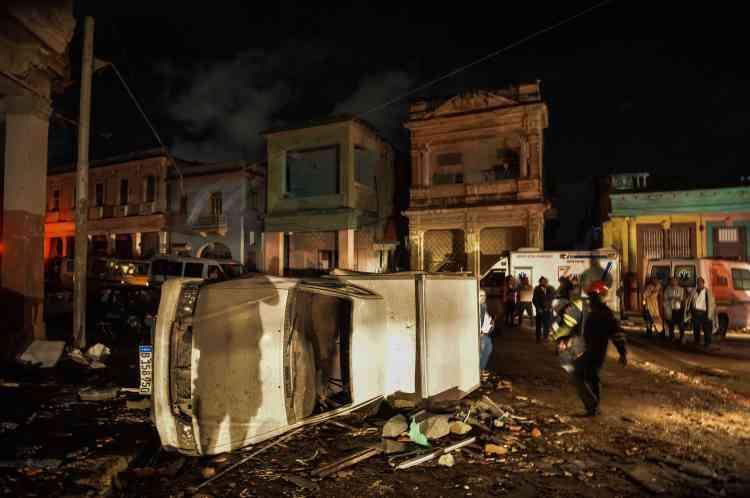 Le quartier populaire de Luyano, dans la municipalité du 10-Octobre, a été touché de plein fouet par la tornade.