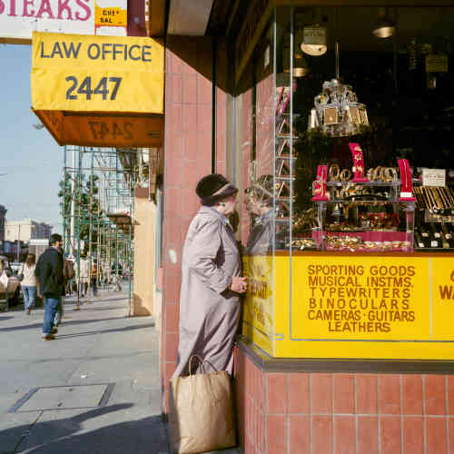« Pawnshop, Mission St », 1984.