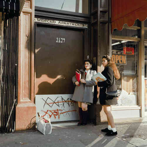 « After School, Mission St », 1985.